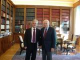Με τον κ. Πρόεδρο της Δημοκρατίας